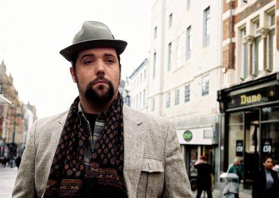Leeds Busker Paul Adrian